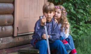 Бра и сестра Катаевы