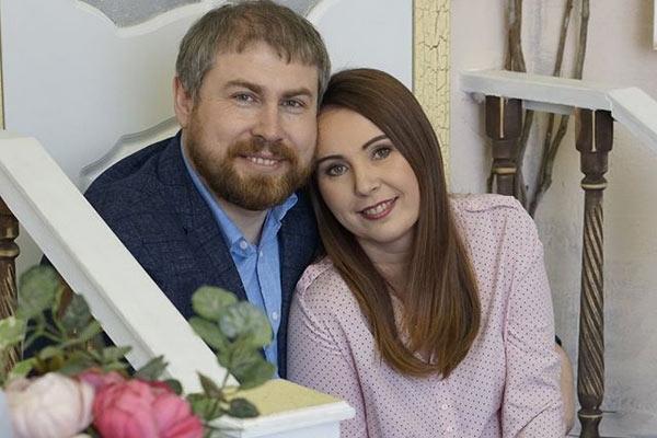 Семейный психолог Яна Катаева с мужем Андреем