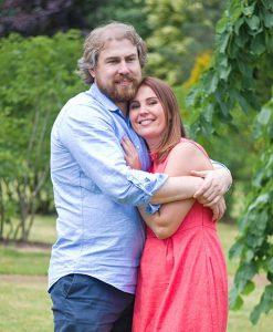 Яна с мужем Андреем